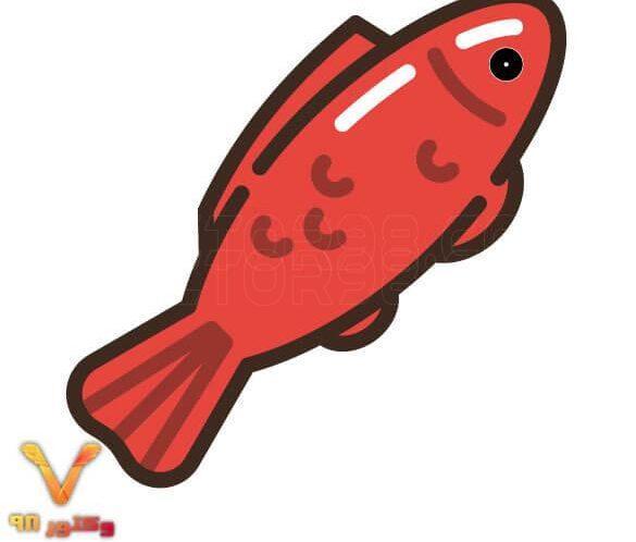 آیکون لایه باز ماهی قرمز سفره هفت سین