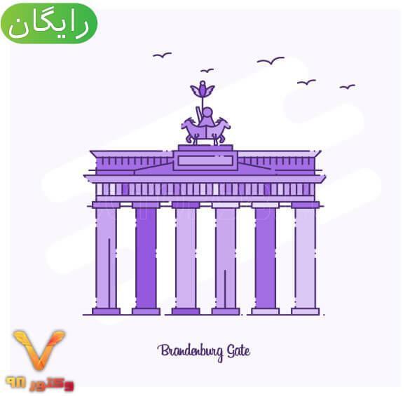 وکتور دروازه براندنبورگ آلمان