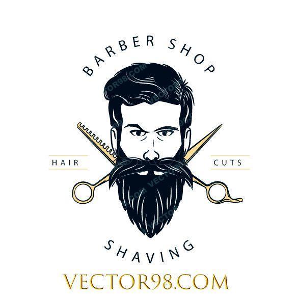لوگوی آرایشگری مردانه