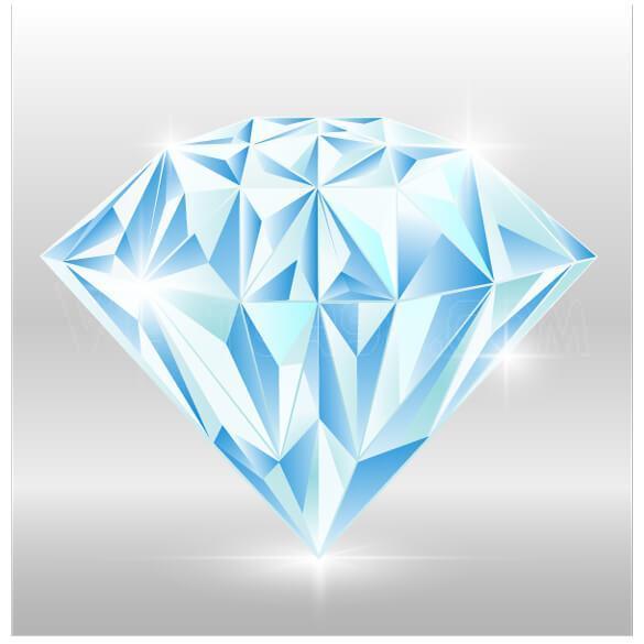 وکتور الماس واقع گرایانه