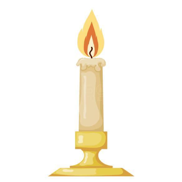 وکتور شمع